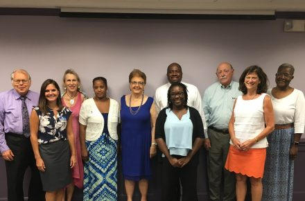 AMC Scholarship Awardees Join Donors & Community Development Leaders for Bagels and Networking